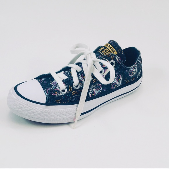 Converse Other - Converse All Star Cat Pattern Sneakers